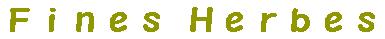 ナチュラル雑貨通販Fines Herbes