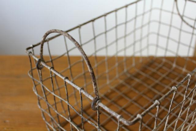 スクエアワイヤーバスケットL