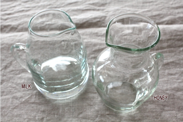 リューズガラス ブロードライン ミニピッチャー
