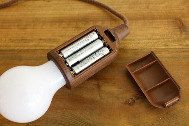 電池式ロープランプ