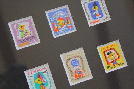北欧切手フレーム・国際パペットフェスティバル1060