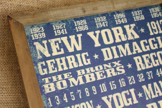 ヴィンテージサインボード/NEW YORK