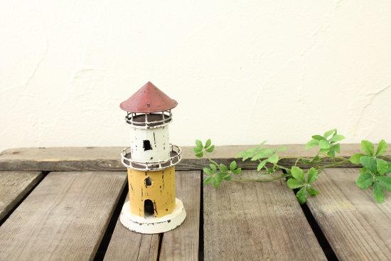 ブリキオブジェ・灯台A