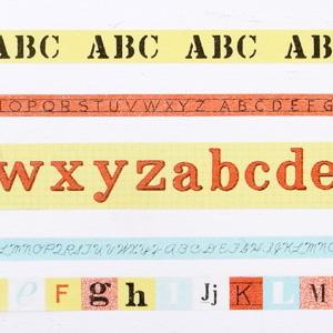 fog マスキングテープセット/アルファベット