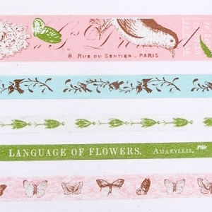 fog マスキングテープセット/動物と植物