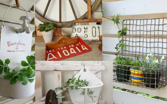 ガーデン雑貨色々