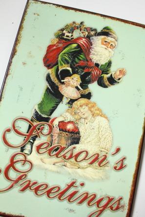 クリスマスミニプレート